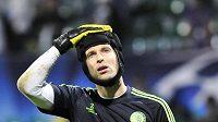 Zklamaný brankář Chelsea Petr Čech