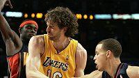 Pau Gasol (uprostřed) patřil mezi nejlepší hráče Lakers.