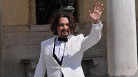 Americký herec Johnny Depp