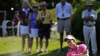 Anglický golfista Luke Donald.