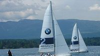Jachtařský závod na ženevském jezeře při BMW X3 Games