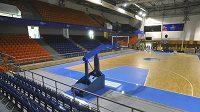 Městská hala míčových sportů v brněnské Vodově ulici, kde budou hrát zápasy MS české basketbalistky