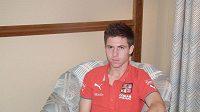 Útočník fotbalové devatenáctky Tomáš Přikryl na ME v Rumunsku.