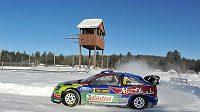 Mikko Hirvonen během Švédské rallye