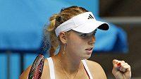 Dánská tenistka Caroline Wozniacká