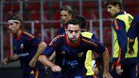 Španělský fotbalista Xavi si pustil pusu na špacír a prozradil, jaké plány má jeho bývalý kouč Guardiola