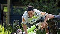 Ronaldinho prožil vítězný návrat do reprezentace.