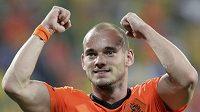 Nizozemská hvězda Wesley Sneijder.