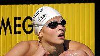 Plavkyně Simona Baumrtová se může těšit na další sezóny.