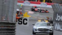 Safety car během Velké ceny Monaka - ilustrační foto