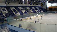 Popradská hala má kapacitu 4800 míst. I v nadcházející sezóně se zde bude hrát nejvyšší slovenská hokejová soutěž.