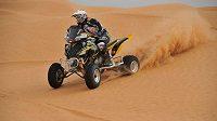 Josef Macháček se opět vydá na Rallye Dakar v sedle čtyřkolky.