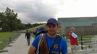 Střelec David Kostelecký odchází po poslední ráně na MS v Mnichově.