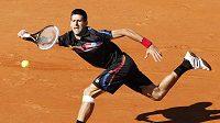 Srbský tenista Novak Djokovič na Roland Garros