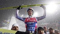 Polský skokan na lyžích Adam Malysz se v Zakopaném loučil s kariérou.