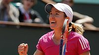 Belgická tenistka Justine Heninová.