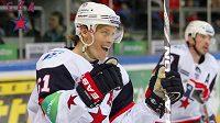 Ruská hokejová hvězda Maxim Afinogenov