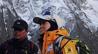 Korejská horolezkyně O Un-son