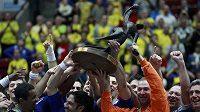 Házenkáři Francie oslavují, ve Švédsku obhájili titul mistrů světa.