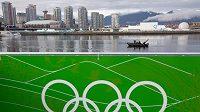 Pohled na Vancouver, dějiště zimní olympiády