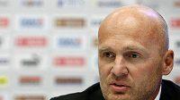 Trenér národního fotbalového týmu Michal Bílek