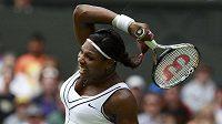 Tenistka Serena Williamsová na Wimbledonu