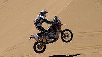 Španělský motocyklista Marc Coma na Rallye Dakar