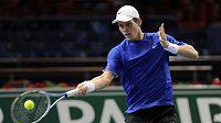 Český tenista Tomáš Berdych na turnaji v Paříži