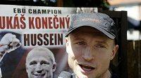Profesionální boxer Lukáš Konečný před zápasem o titul mistra Evropy