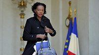Francouzská ministryně sportu Rama Yadeová na návštěvě v JAR.