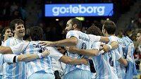 Radost argentinských házenkářů