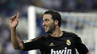 Útočník Realu Gonzalo Higuaín se trefil do sítě Mallorky.