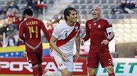 Paolo Guerrero vsřelil tři góly a byl hlavním tahounem Peru za třetím místem na Copa Amerika, Venezuela prohrála 1:4.