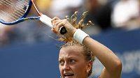 Petra Kvitová vrací úder Kim Clijstersové ve 3. kole US Open.