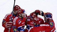 Radost hokejistů Českých Budějovic
