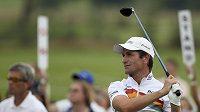 Golfista Steve Webster na Moravia Silesia Open v Čeladné