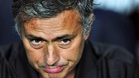 Kouč Realu Madrid Jose Mourinho.