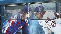 Jaromír Jágr a Marian Hossa mají přilákat fanoušky na hokejové mistrovství světa.