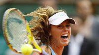 Portugalská tenistka Michelle Larcher de Britová