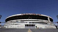 Fotbalový stadión Morumbi, na kterém se v Sao Paulo odehrají některé zápasy mistrovství světa 2014 v Brazílii.