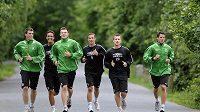 Fotbalisté Jablonce během přípravy na další ligový ročník