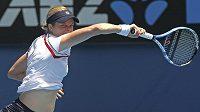 Belgická tenistka Kim Clijstersová během Australian Open