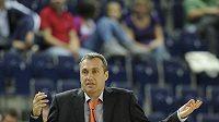 Trenér basketbalistů Nymburka Ron Ginzburg