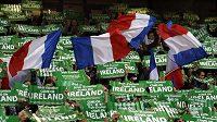 Fanoušci irských fotbalistů