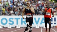Oskar Pistorius z JAR závodící s protézami