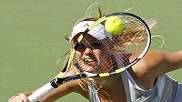 Karolína Wozniacká na turnaji v Indian Wells.