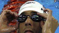 Hvězda šampionátu Michael Phelps.