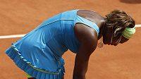 Zklamaná americká tenistka Serena Williamsová