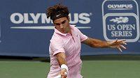 Roger Federer porazil ve finále v Cincinnati domácího Mardyho Fishe.