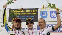 Martina Růžičková (vlevo) skončila na letošním mistrovství republiky v časovce druhá.